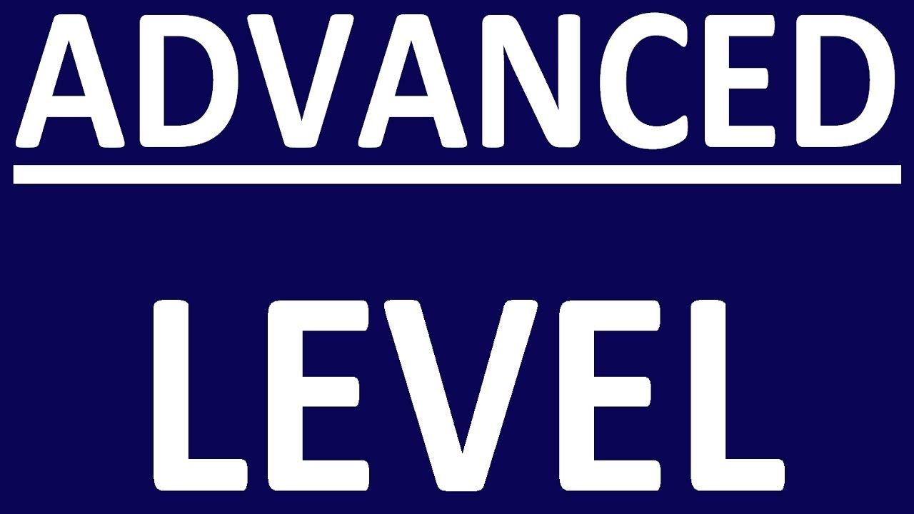 Advanced-level