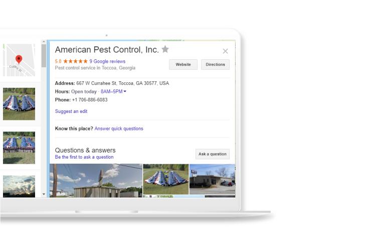 Local SEO for Pest Control citations