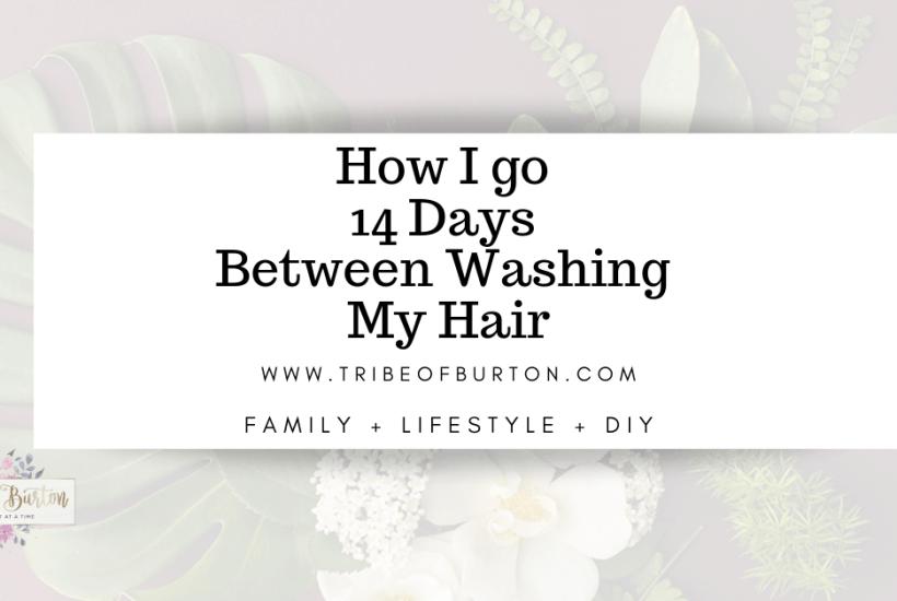 Using Dry Shampoo for 14 days #dryshampoo