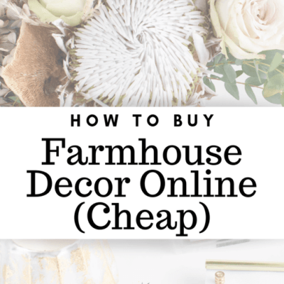 How To Buy Cheap Farmhouse Decor Online