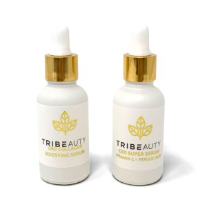 CBD Serums Bundle - Collagen Boosting Serum & Vitamic C Serum