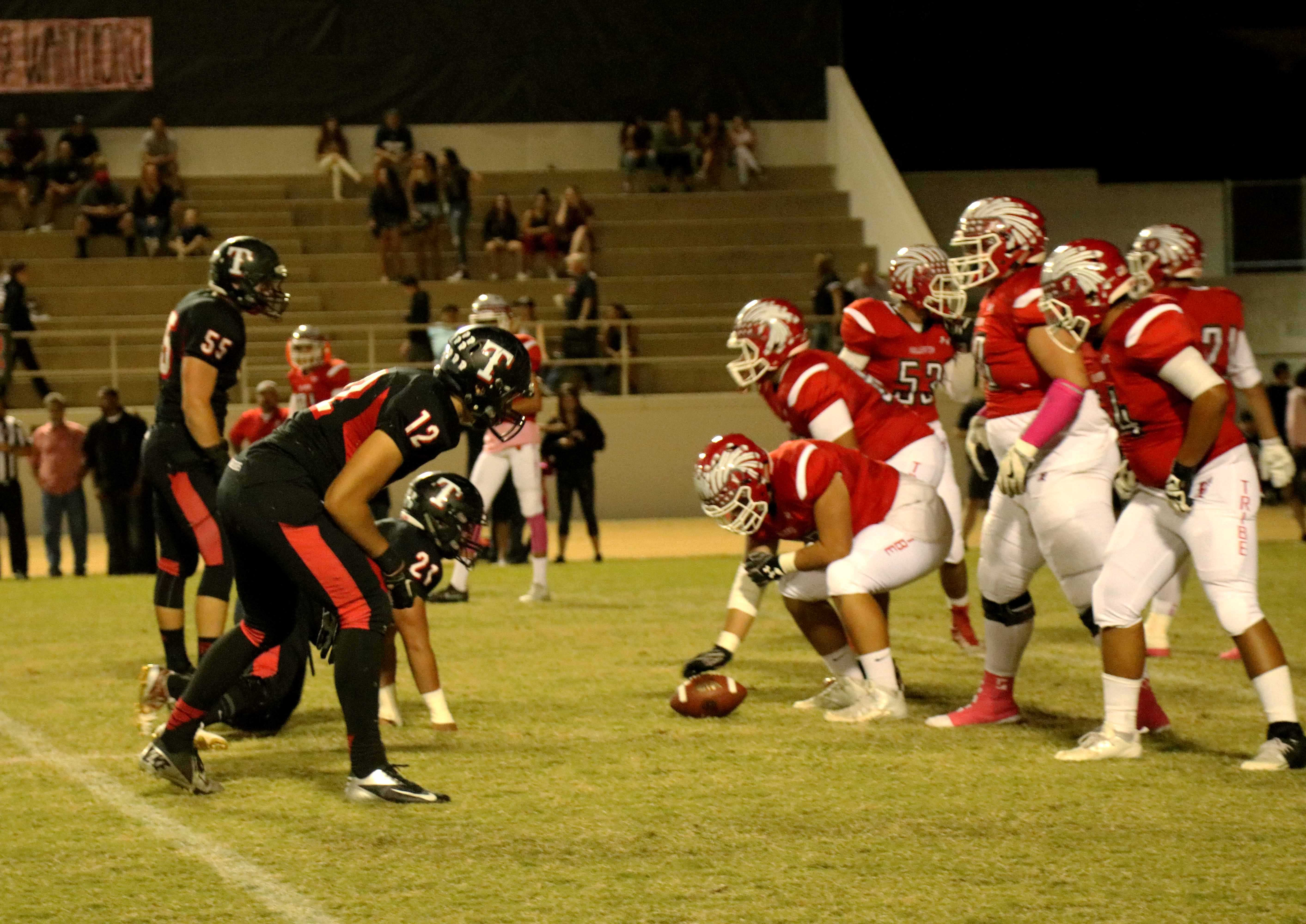Offensive+line+vs+Troy+Photo+by+Emily+Caluya