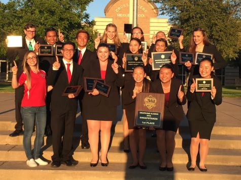 Speech team's first win of the year