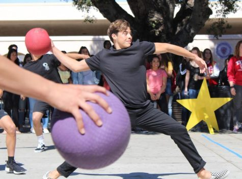 FUHS students dodge balls at District Dodgeball Tournament