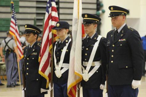 JROTC wins color guard competition