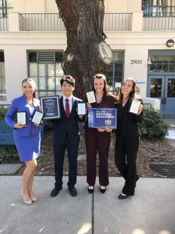 Speech and Debate: Parliamentary Debate team advances to State