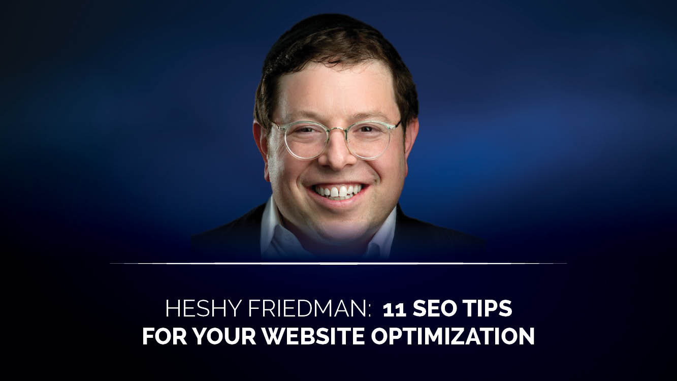 11 SEO tips for your website optimization