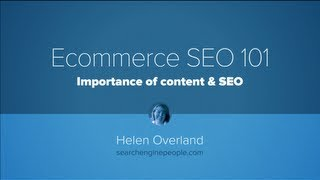 E-commerce SEO 101