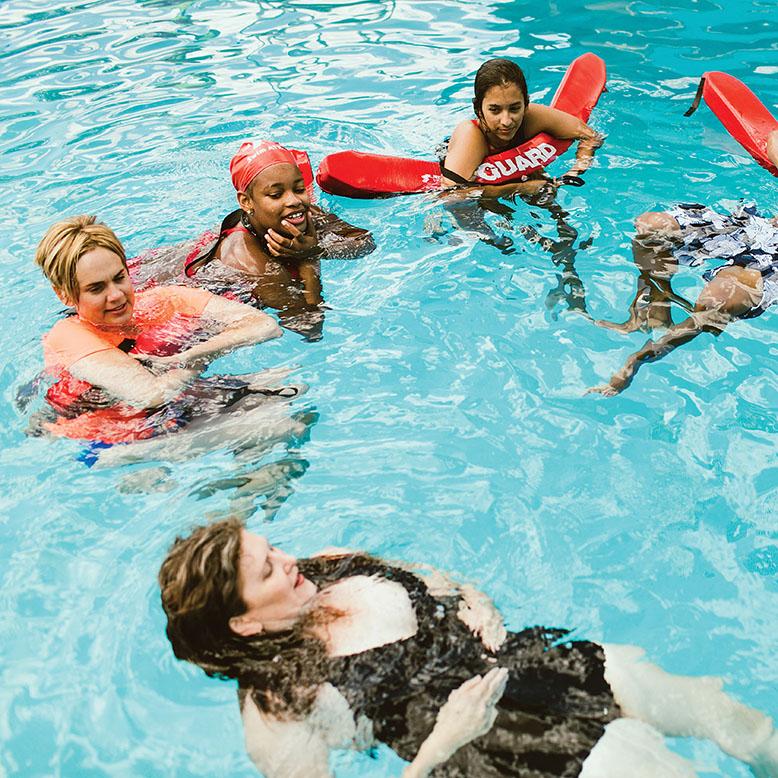 forklift danceworks tribeza austin pool
