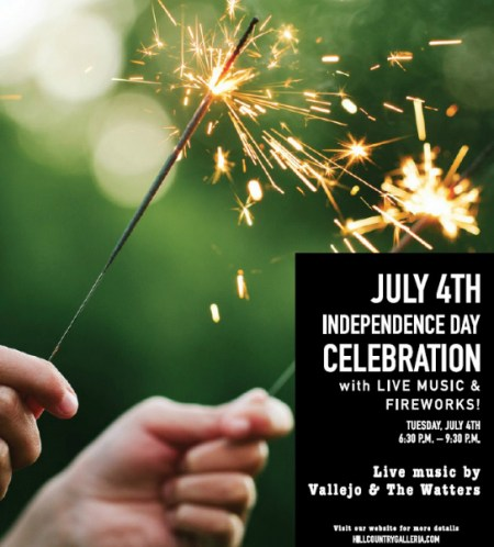 hill country galleria independence celebration austin