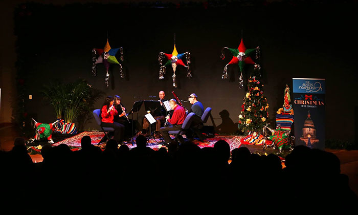 austin symphony orchestra christmas community