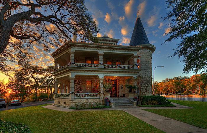 christmas caswell house austin