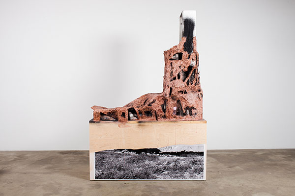 huma bhabha art contemporary austin exhibition