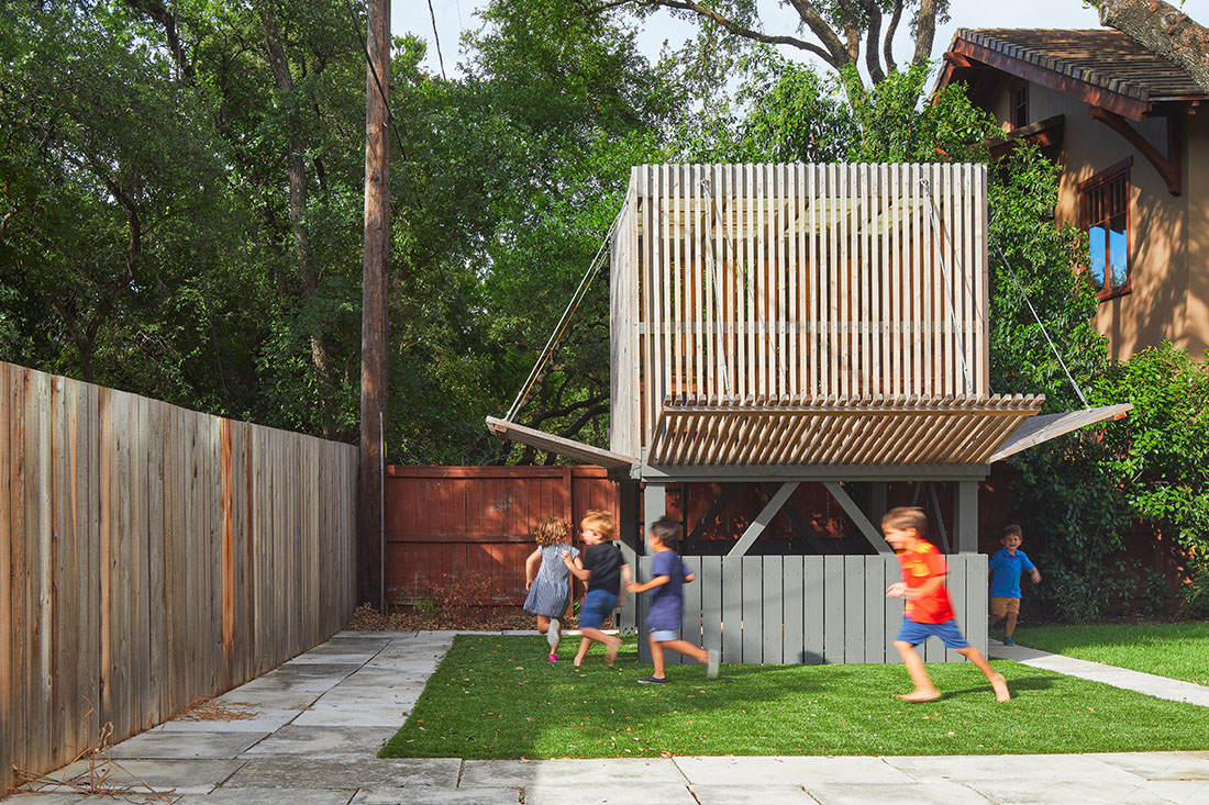 Tim Cuppett archicture austin playground box rollingwood