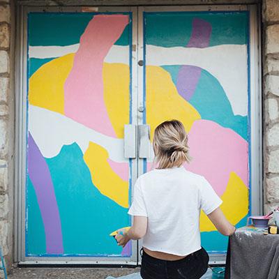 courtney leinfelder, austin, art, austin artist, home decor