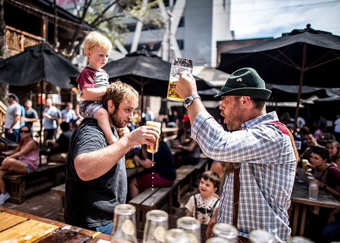 Oktoberfest in Austin: Banger's