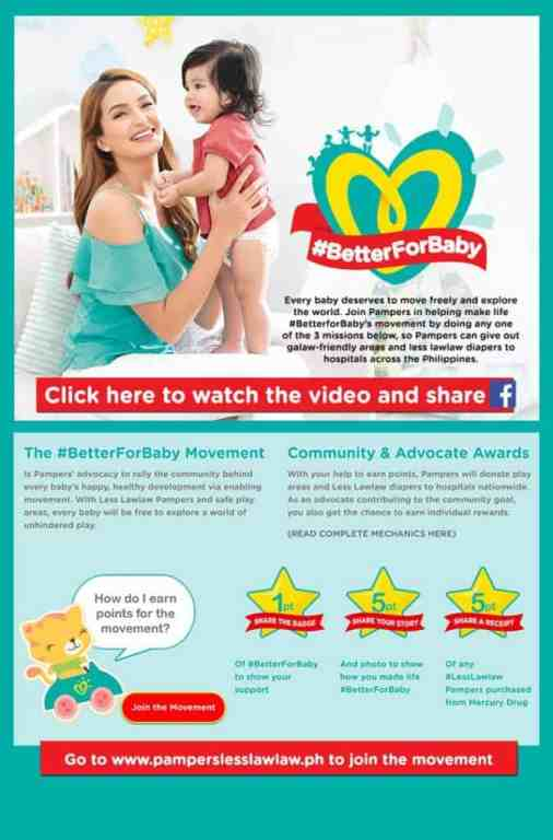 Pampers Launches the #BetterForBaby Advocacy to Support Unhindered Movement and Development