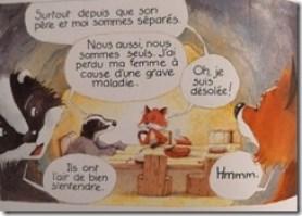 BD Monsieur Blaireau et Madame Renarde se rapprochent