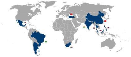paises desarrollo