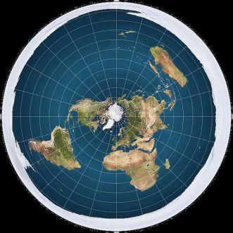 Información y tierra plana