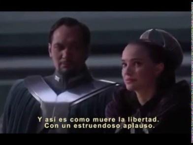 La Guerra de las Galaxias ilustra muy bien el modo en que se produce la muerte de una democracia.