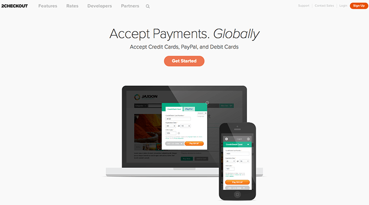 Best Payment Gateway - 2CheckOut