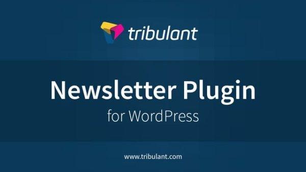 Tribulant WordPress newsletter plugin