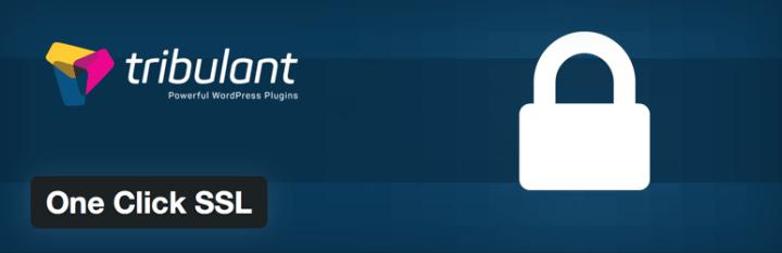 One Click SSL plugin for WordPress