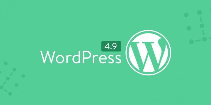 WordPress 4.9 Newsletter