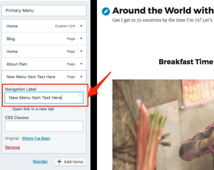 Custom Menus in WordPress