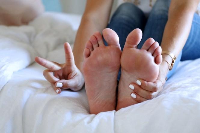 De jolis pieds pour l'été
