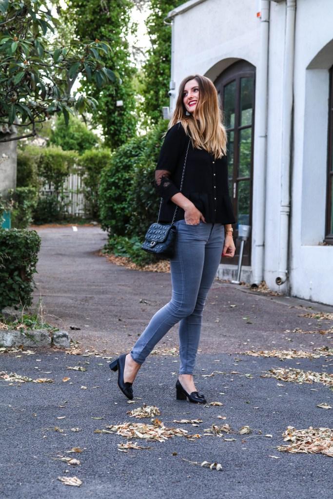 blog mode Look de fêtes dentelle