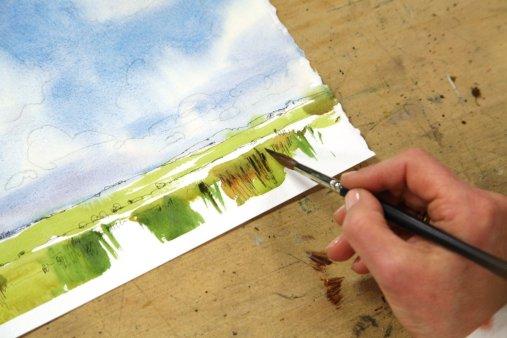 cours vidéo créatif aquarelle