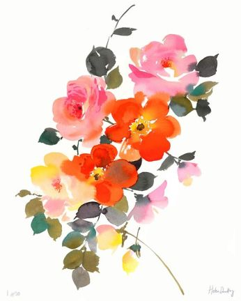 aquarelle inspiration artistes fleurs helen dealtry 2