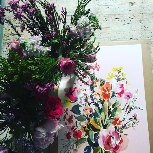 aquarelle inspiration artistes fleurs jessica priest