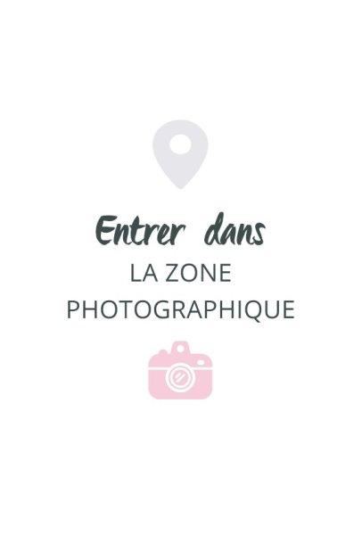 entrer dans la zone photographique