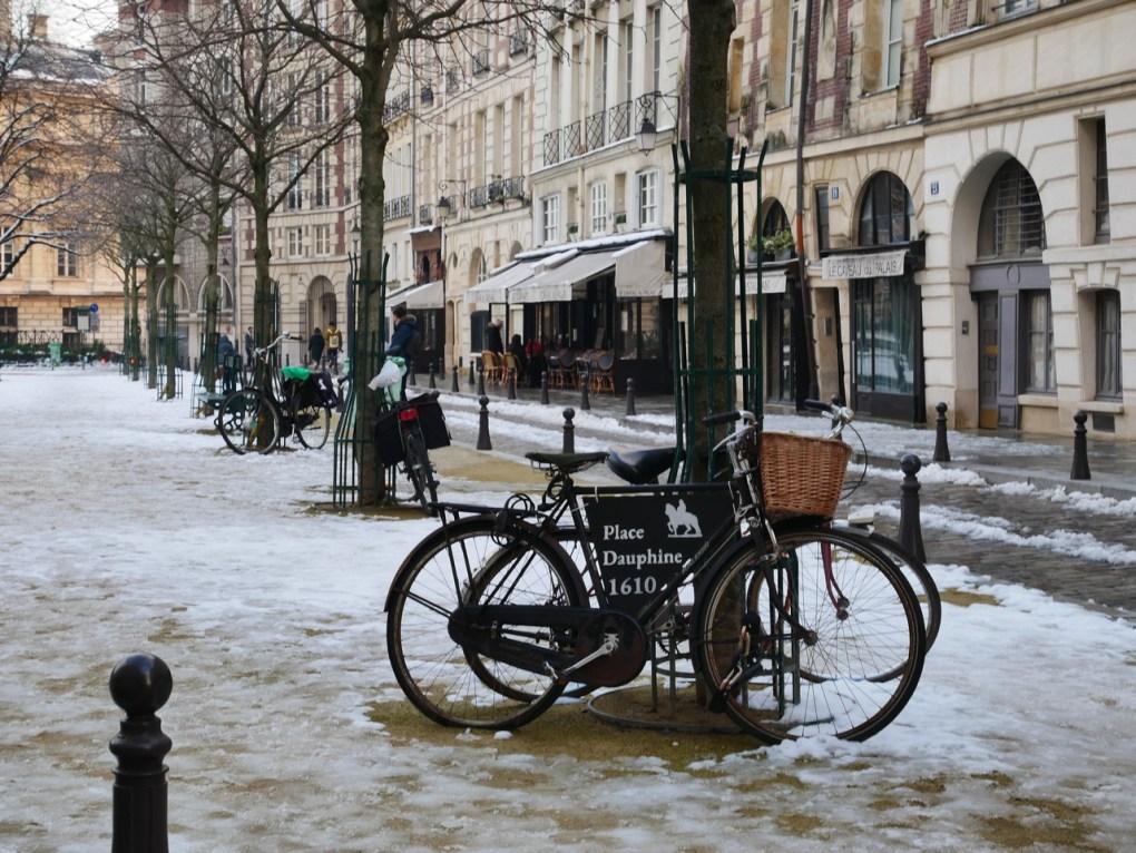 jours de neige sur la région parisienne