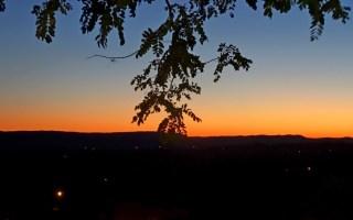 lundi soleil 18 juin ciel coucher de soleil