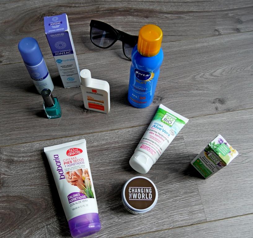 Mes produits de beauté pour les vacances au soleil