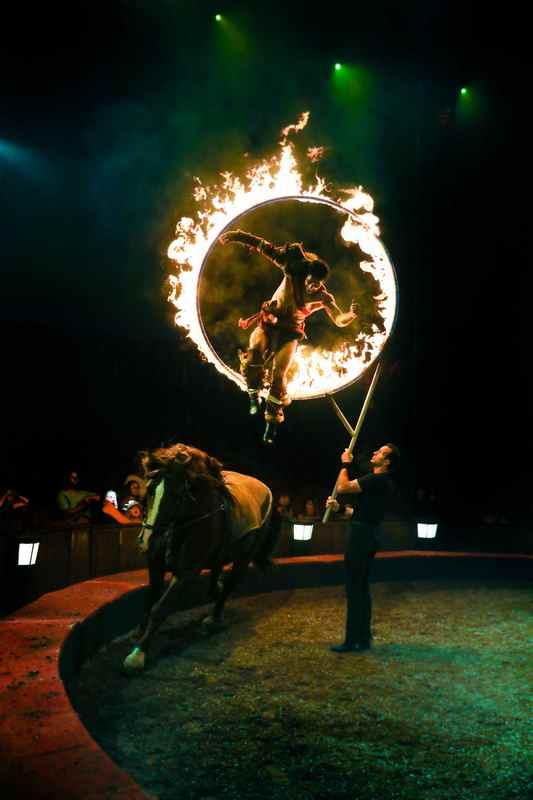Origines cirque alexis gruss charles gruss chevaux