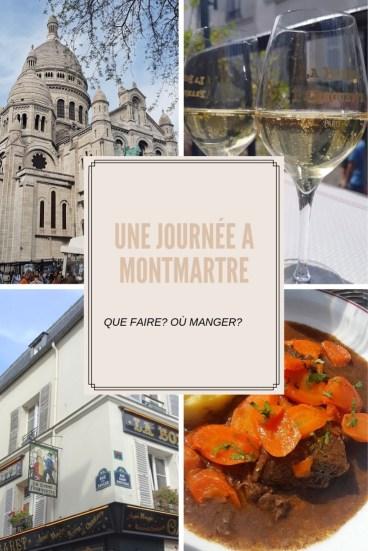 une journée à Montmartre