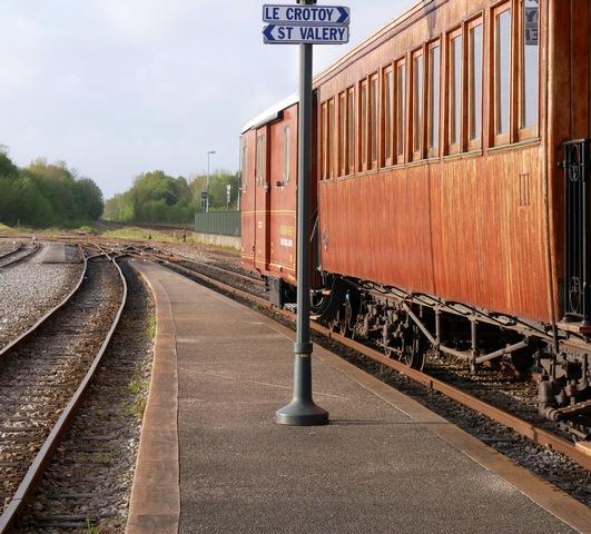 Chemin de fer de la Baie de Somme escapades amoureuses