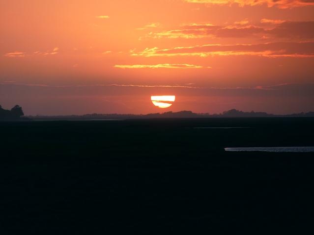 coucher de soleil sur la Baie de Somme escapades amoureuses