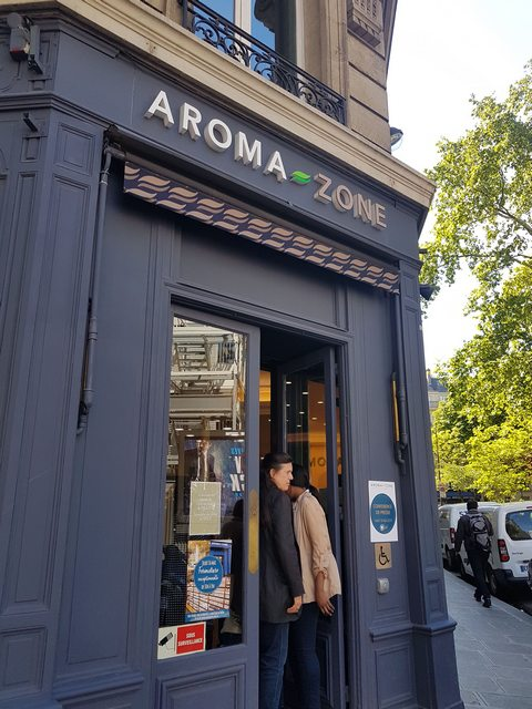 aroma zone boutique paris