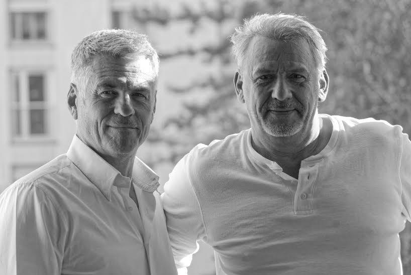 Bruno Gaccio et Philippe Giangreco pour la pièce Les pâtes à l'ail