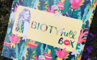 biotifull box poucinette beauté