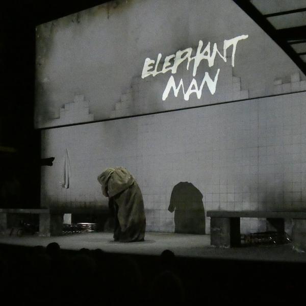ELEPHANT MAN FOLIES BERGERE JOEYSTARR BEATRICE DALLE