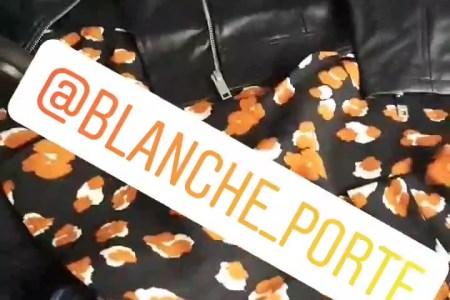 look automne Blanche porte Tribulations d'une quinqua