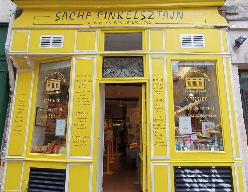 la boutique jaune 27 rue des rosiers paris
