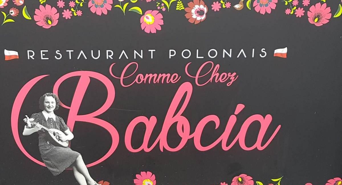 Lundi soleil enseignes restaurant polonais Babcia à Lens